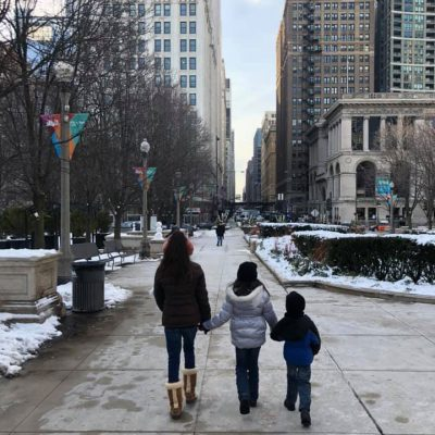 How to Get Around Chicago with Kids…Solo